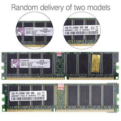 1GB DDR 400mhz PC3200 3200 400 184-pin Desktop Memory Ram For - 400 Mhz Computer Ram Memory