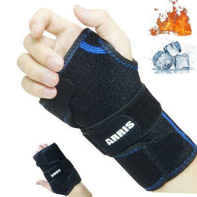 Wrist Ice Pack Wrap  Hand Support Brace with Reusable Gel Pack Hot Cold Therapy