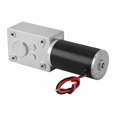 Dc 12v 15rpm High Torque Electric Power Speed Reduce Turbine Worm Gear Box Motor