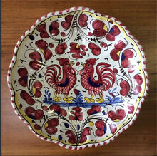 Vintage  Koln Keramik Weber rooster wall plate White Gum Valley Fremantle Area Preview