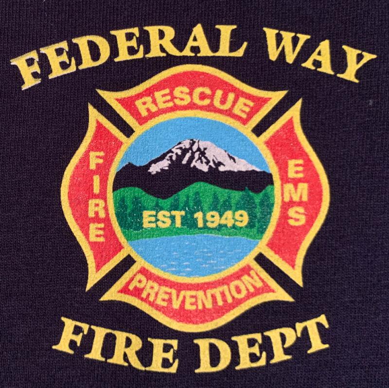 South King Fire & Rescue Federal Way Washington WA T- Shirt XL FDNY