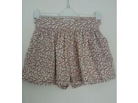 Jack Wills Bramble Culottes - uk 8 - Excellent Condition - RRP £49.00
