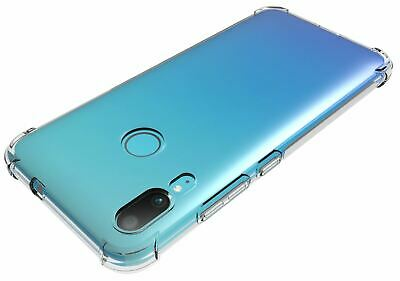 For Motorola Moto E6 Plus Clear Transparent Silicone Gel Shock Proof Case Cover