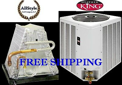 5 Ton R-410A 14 SEER Mobile Home Heat Pump Condensing Unit & Evaporator Coil