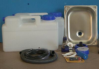 Miniküche Wasserhahn BLAU Bausatz Technikpaket 3.2.-Hc… |