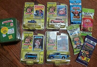 Topps '21 Garbage Pail Kids Lot- Food Fight Tin, Car Set, 4 packs - NEW, SEALED!