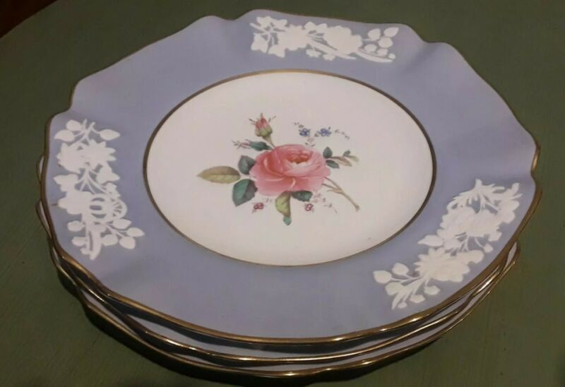 SPODE MARITIME ROSE Scalloped Salad Plate R1148