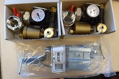 Pex Hrh Comap Connection Kit Manifold Ball Valves Adapters Thermometers - Hrcmck
