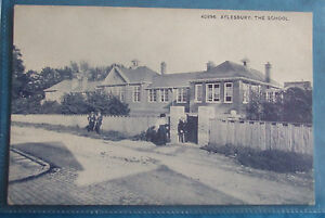 POSTCARD-c-1910-THE-SCHOOL-AYLESBURY-BUCKINGHAMSHIRE