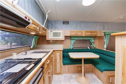 21ft Millard Poptop Caravan