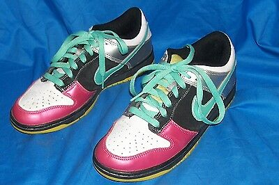 Womens Size 8 Nike 6.0 Dunk Low Top Leather Basketball Shoes 314141-031 Athletic ()