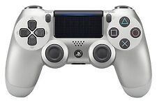 Official DualShock PS4 Wireless Controller for PlayStation 4 - Silver  NEWEST