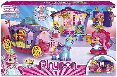Pinypon Carroza de Reinas Incluye la figura Queen PinyPon el Unicornio, con...