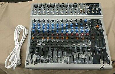 Peavey PV14 14 Channel Mixer 14CH Mixing Board DJ Live Studio Audio Console Dj Mixing Board
