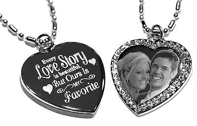 Personalized custom necklace, dog tag pendant with image, picture or text (Customized Dog Tag Necklaces)