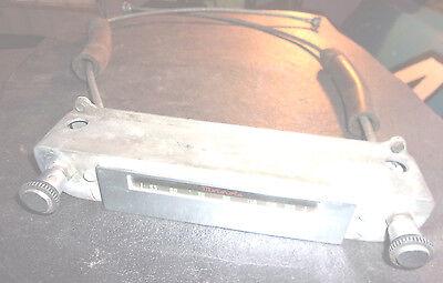 1949 Studebaker Radio Head Motorolla With Knobs & Cables 9SRM   -  SP340