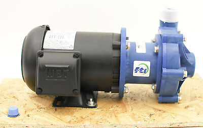 Finish Thompson Centrifugal Magnetic 1 Hp 230460v Polypropylene Drive Pump