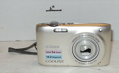 Nikon COOLPIX S3100 14 MP Digital Camera with 5x NIKKOR Wide-Angle Optical Zoom