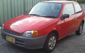 Automatic  1997 Toyota Starlet Hatchback Pendle Hill Parramatta Area Preview