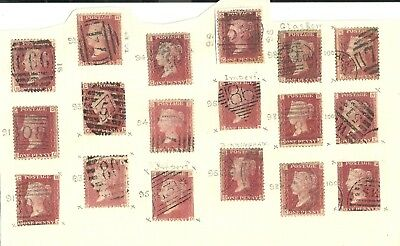 Victorian Penny Red Stamp
