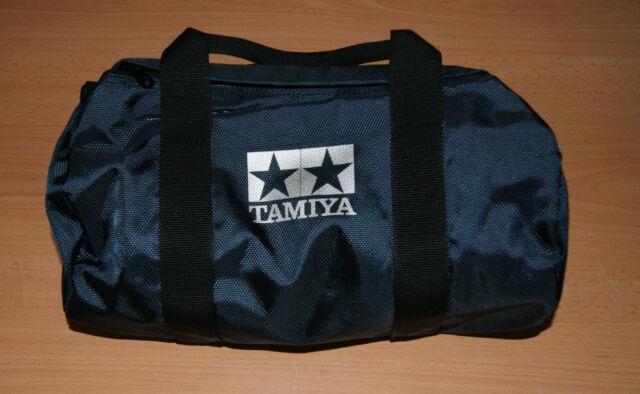 Tamiya 66957 Small Overnight/Transmitter Bag, Long Strap (Navy & Black), NEW