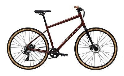 2021 Marin Kentfield 1 Hybrid Bike (Copper) (Large)