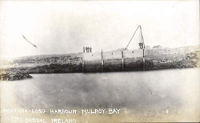 Mulroy Bay, County Donegal. Port-na-Long Harbour
