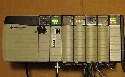Allen Bradley Controllogix 1756-l63a Pa75b A7b Ow16i Ib16 Cnbeif4fxof2f More