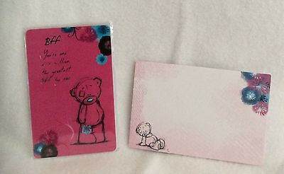 Me To You - Gift Wallet Cards - BFF - Brand New