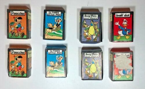 Vintage Disney Card Games Russell Manufacturing Co