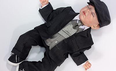 Taufanzug, Taufanzug Junge, Baby Anzug, Kinderanzug,Festanzug baby G005-4