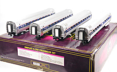 - MTH 20-6531 Amfleet Northwest Corridor 4-Car ABS Passenger Set 1999 C10