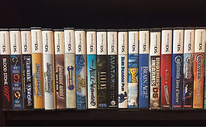 Collector looking for Nintendo ds games
