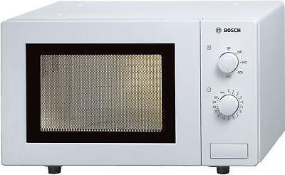 Bosch HMT72M420 Mikrowelle, 800W, 17l, Zeitschalter, weiß