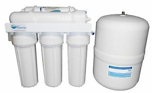 5 fase Osmosi Inversa Filtro acqua per acqua potabile, sistema completo, 50GPD  eBay