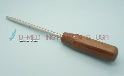 Or Grade Hexagonal Screw Driver Bit 4.5mm Hex Cannulated Orthopedic Instruments