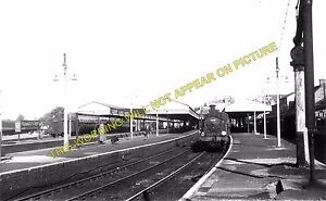 Bournemouth West Railway Station Photo. Branksome and Poole Line. L&SWR. (1)