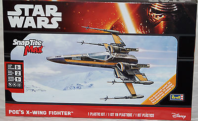 Revell #1825 Star Wars POE'S  X-WING FIGHTER Snap Tite Max