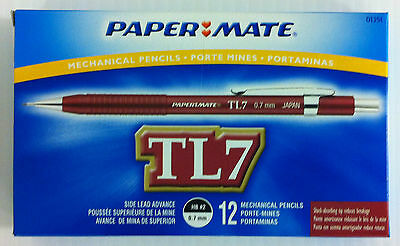 Papermate Tl7 Drafting Mechanical Pencil 0.7mm - Box Of 12
