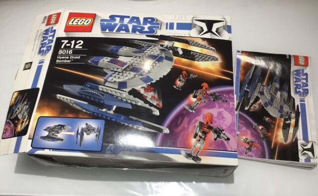 Star Wars 8016 Hyena Droid Bomber As New Toys Indoor Gumtree