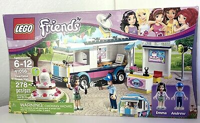 Lego 41056 Friends HEARTLAKE NEWS VAN Retired NEW in Box Sealed Free Shipping