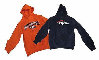 Orange Toddler Sweatshirt - Denver Broncos Toddler Infant Hoodie Sweatshirt MSRP $39.99 Orange/Navy