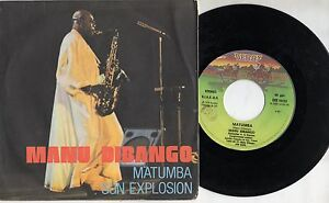 MANU-DIBANGO-disco-45-giri-STAMPA-ITALIANA-Matumba-MADE-in-ITALY-1979