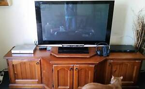 Tv wooden cabinet Roselands Canterbury Area Preview