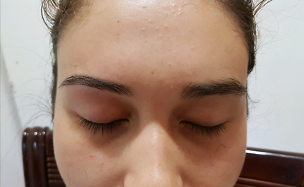 Eyebrow threading ($7) only