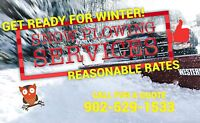 Affordable snow plowing services