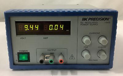 Bk Precision 1665 Dc Power Supply 100-240 Vac 1-19 Vdc