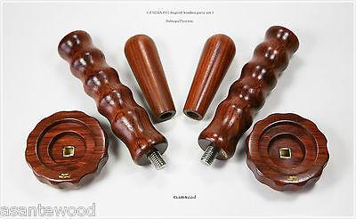 FAEMA E61 Regend espresso machine premium wooden parts set clubWOOD
