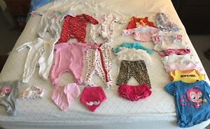 0-3M girls clothing