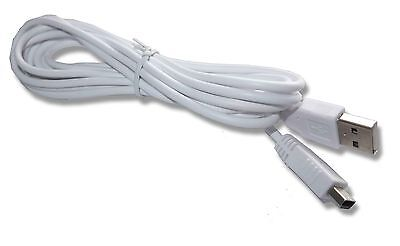 Nintendo WiiU Wii U USB Controller Charger Power Cable Lead UK